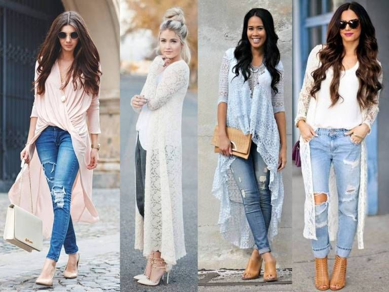 How To Wear Lace Outfit How To Wear Cardigan Lace Outfit Chic Jean Outfits