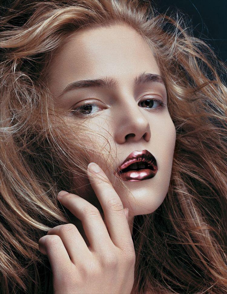 Lip Metallic Matte: Make Up, Metallic Makeup, Hair