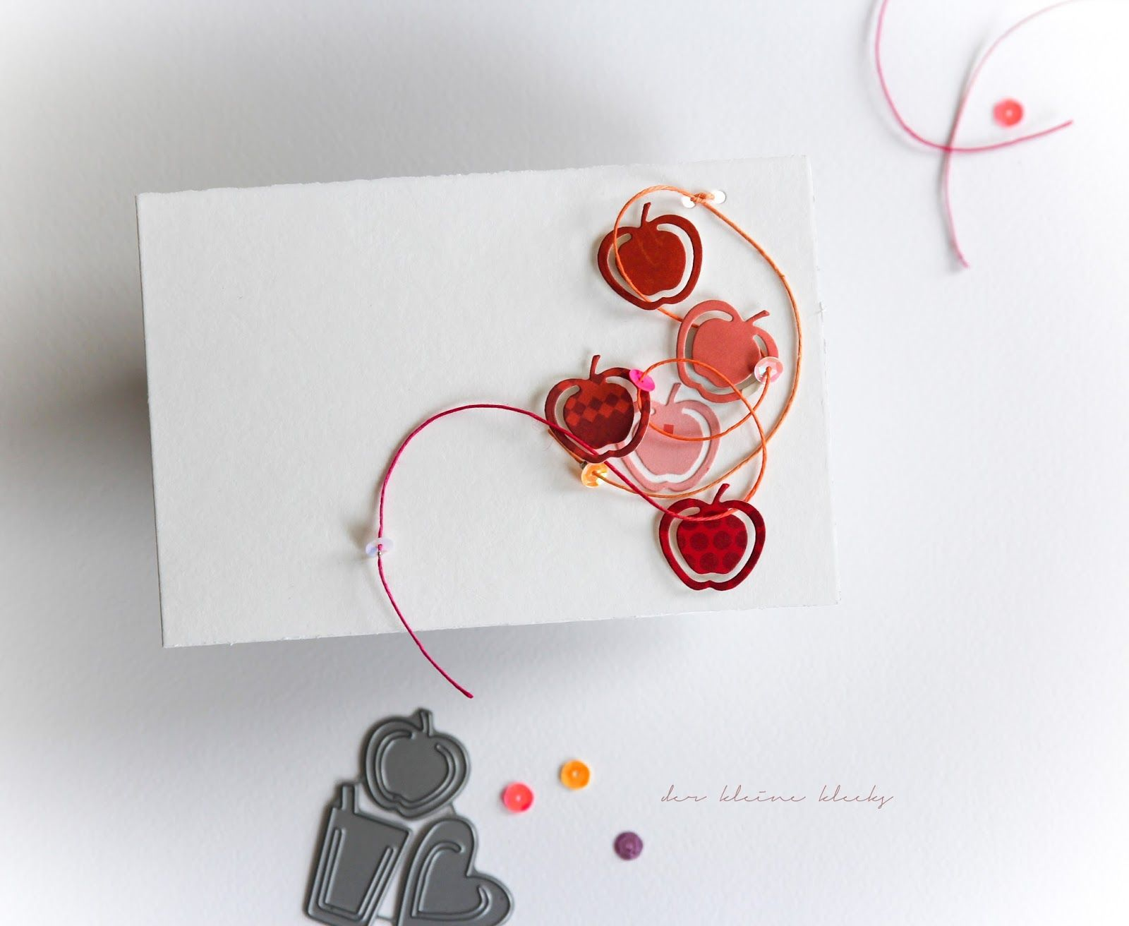 der kleine klecks Cards, Phone ring, Projects to try