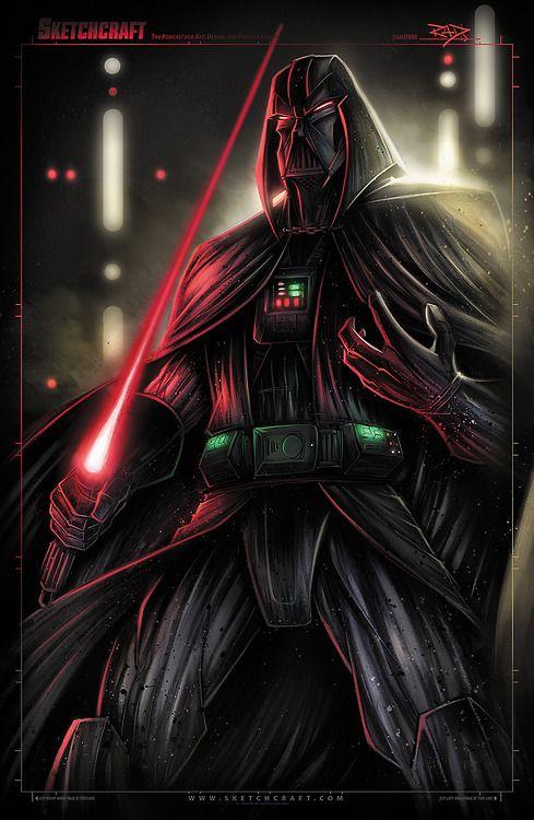 Star Wars - Darth Vader  by Rob Duenas