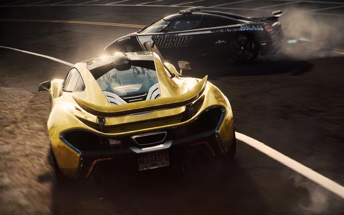 Download Wallpapers 4k Need For Speed Rivals Mclaren P1