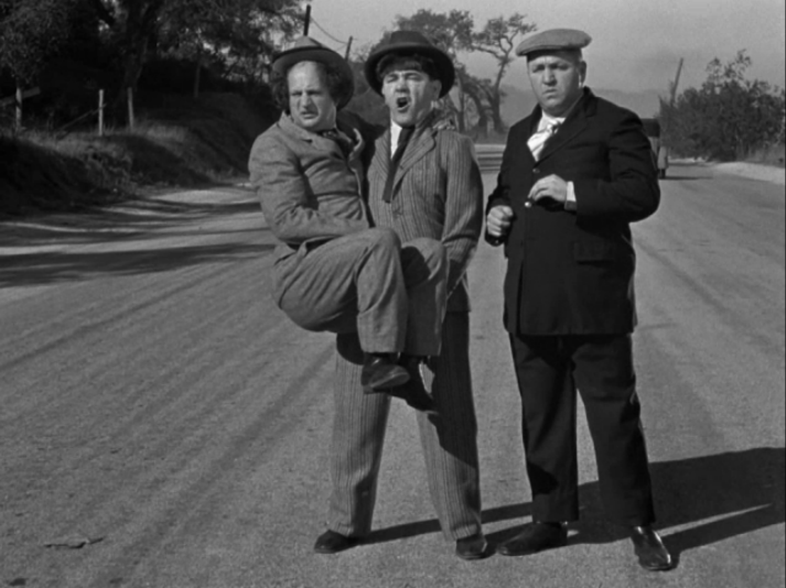 moe howard and the three stooges