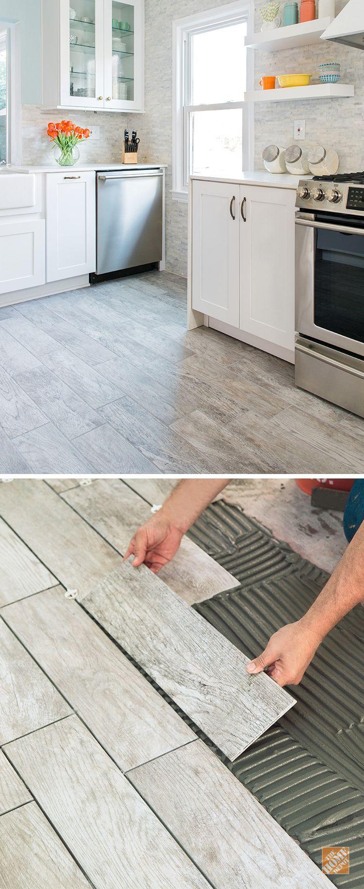 Marazzi kitchen floors porcelain and choices marazzi wood look tile dailygadgetfo Images
