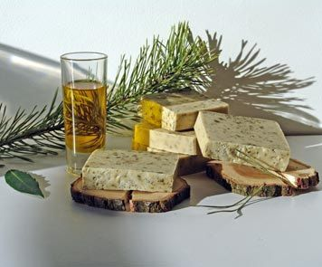 Latvian traditional flavor - pine trees Soaps enriched with extra virgin olive oil, which perfectly moisturizes and protects skin. Pine and