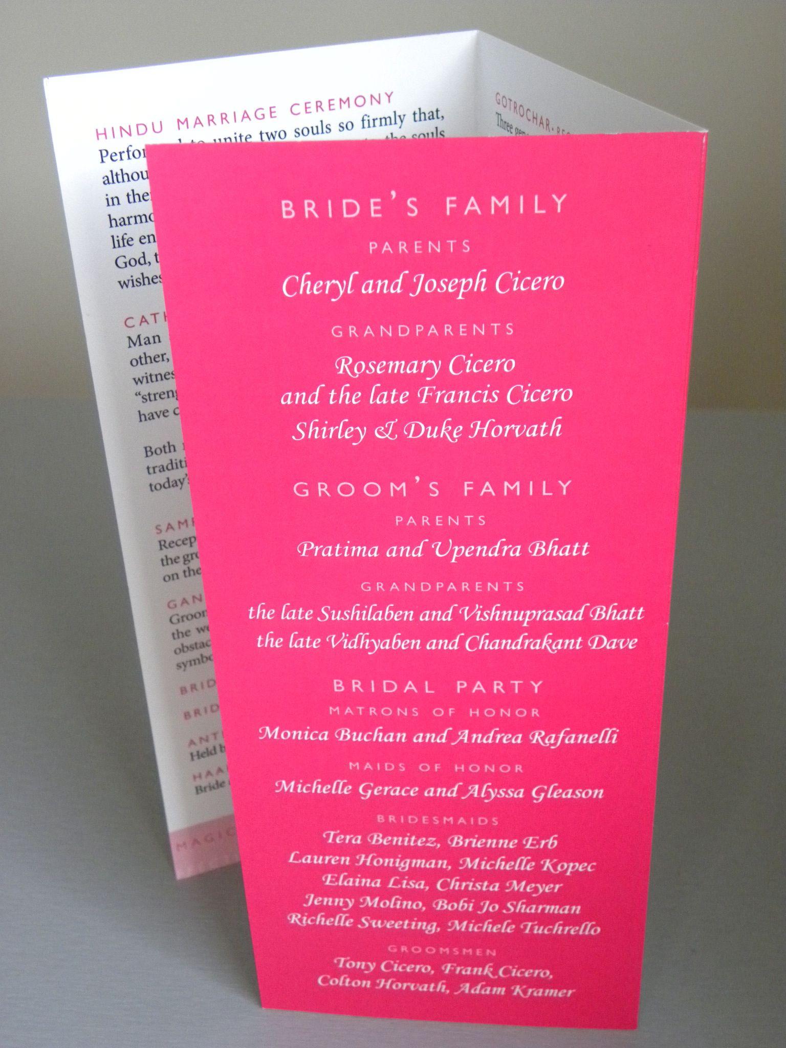 bed bath and beyond wedding invitation kits%0A hindu wedding program