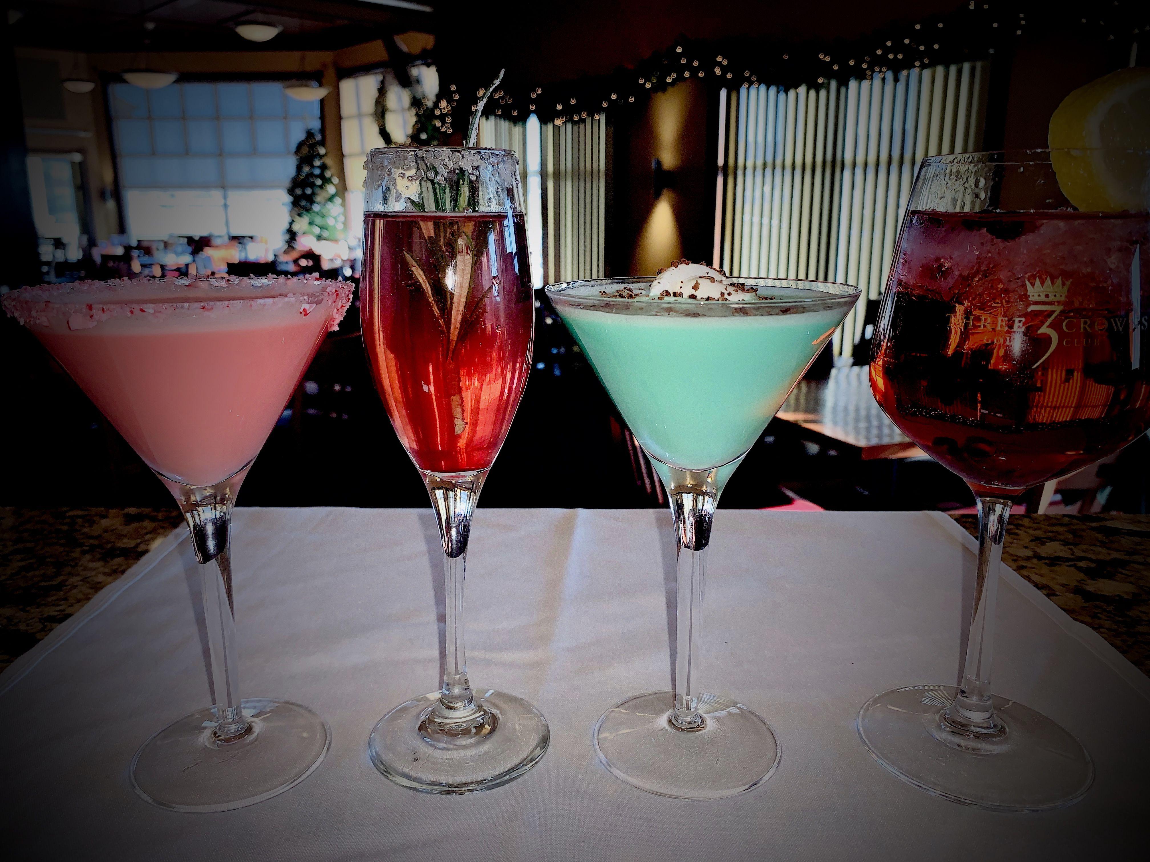Holiday Drinks at Three Crowns Golf Club in Casper