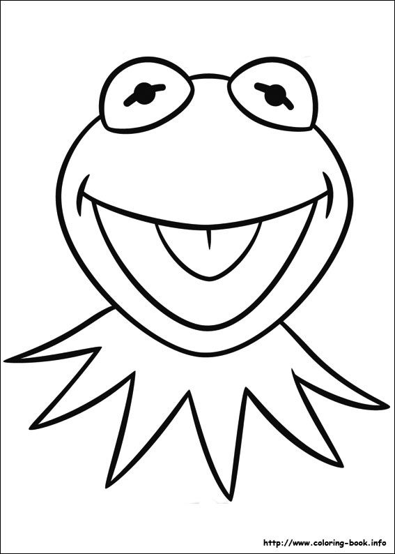 Sarahs Super Colouring Pages The Muppets coloring pages