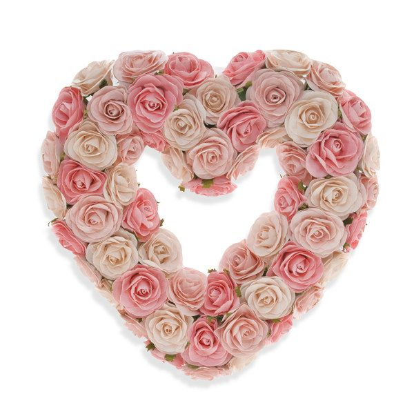 Glenna Jean Rosebud Heart Wreath Heart Wreath Valentine