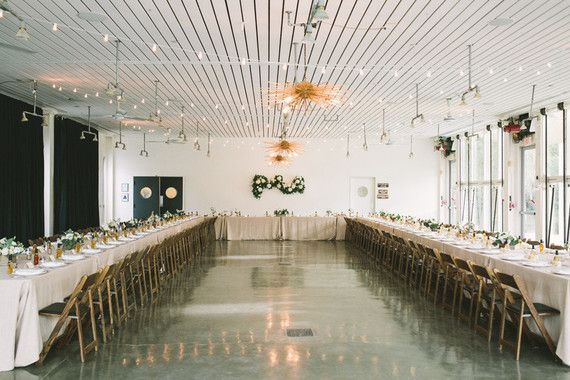 The Tables Can Be Arranged In Any Shape We Like A C Provided And Gl Walls Open Up Modern Desert Wedding Ace Hotel Palm Springs