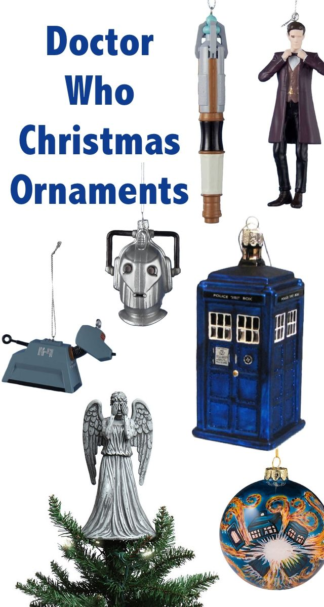 And for a proper Whovian, what better way to celebrate the holidays than  with some Doctor Who Christmas ornaments and other festive ... - Whovian Christmas: Doctor Who Christmas Ornaments Pinterest