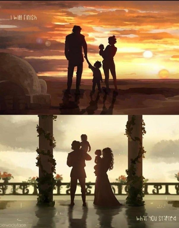 Always thought 9 should've ended in a happy version of what Anakin always wanted.