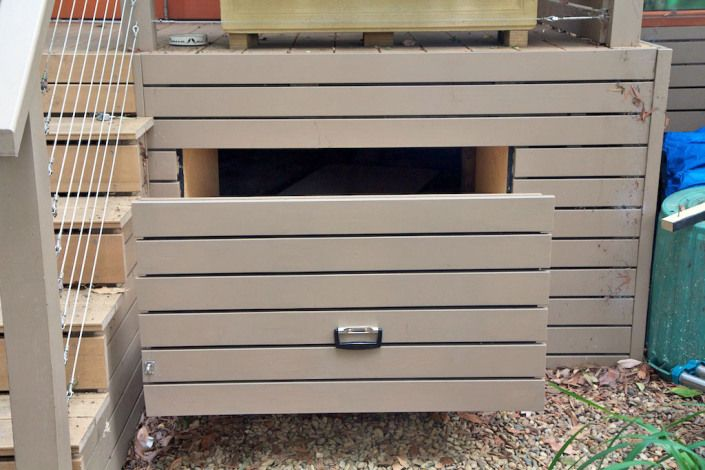 Under Deck Tool Drawer Deck Designs Backyard Building A Deck
