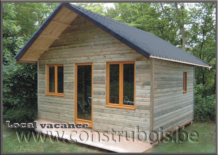 Garages bois toit plat préfabriqués, Garage en bois deux versant - Montage D Un Garage En Bois