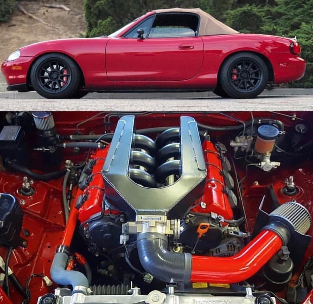"""Cars And Lifestyle Brand™ on Instagram: """"J Swapped Miata"""