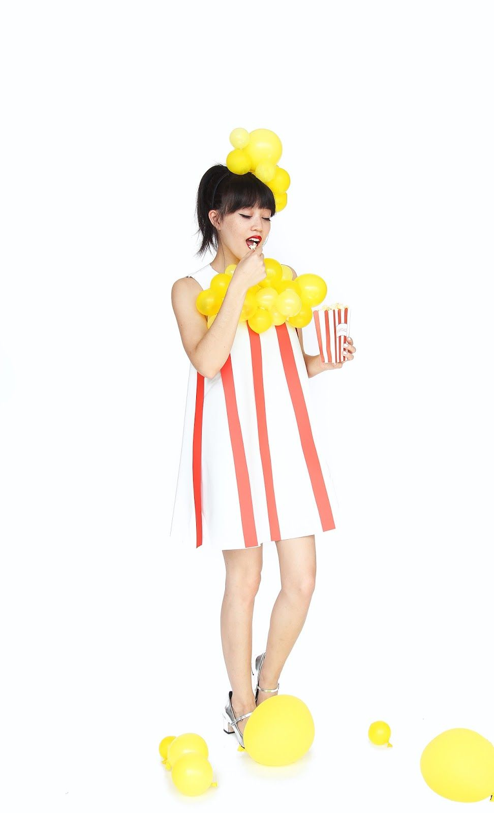 Aww Sam DIY Popcorn Halloween Costume