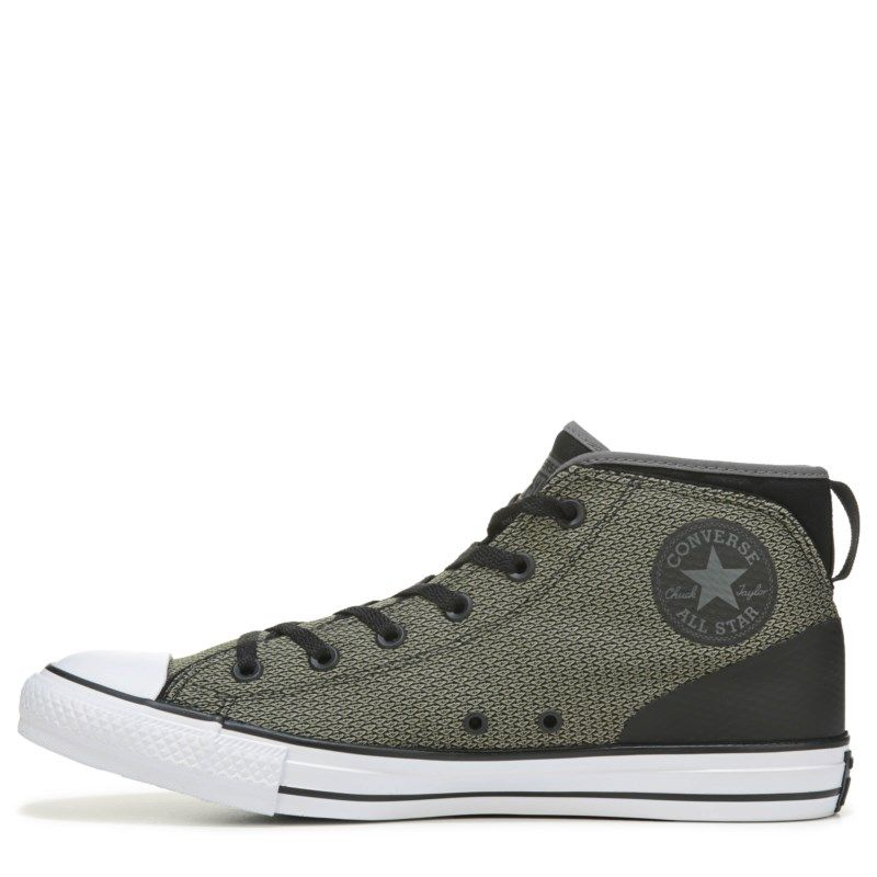 97c2dcf9ba69a3 Converse Men s Chuck Taylor All Star Syde Street Reflect Sneakers (Green  Black White) - 12.0 M
