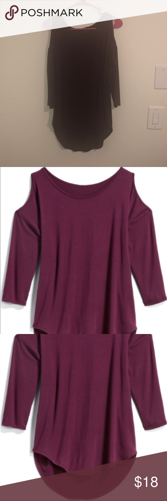 a7c54bf659da94 Brand new Aubrey cold shoulder knit top Brand new never worn from a stitch  fix.