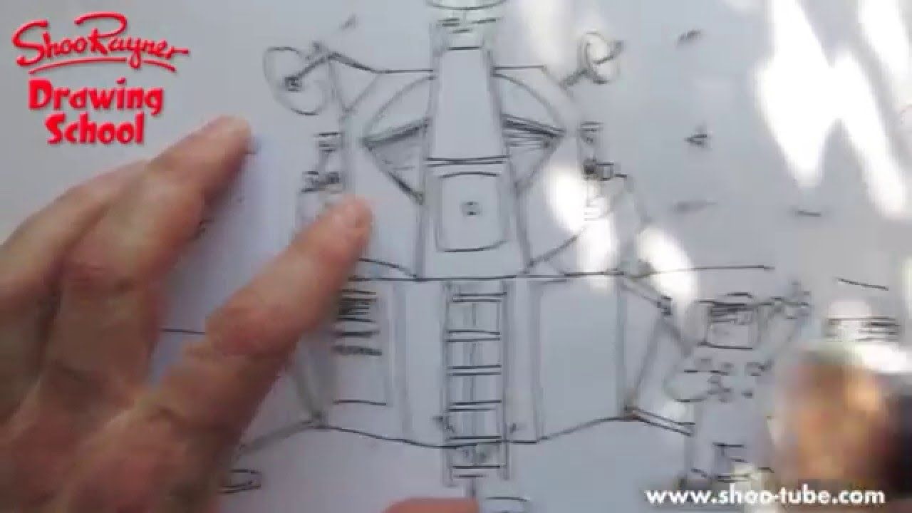 Learn How To Draw The Apollo Lunar Landing Module Space Craft