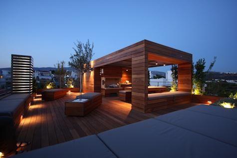Lighting Terrace Design Rooftop Terrace Design Rooftop Patio