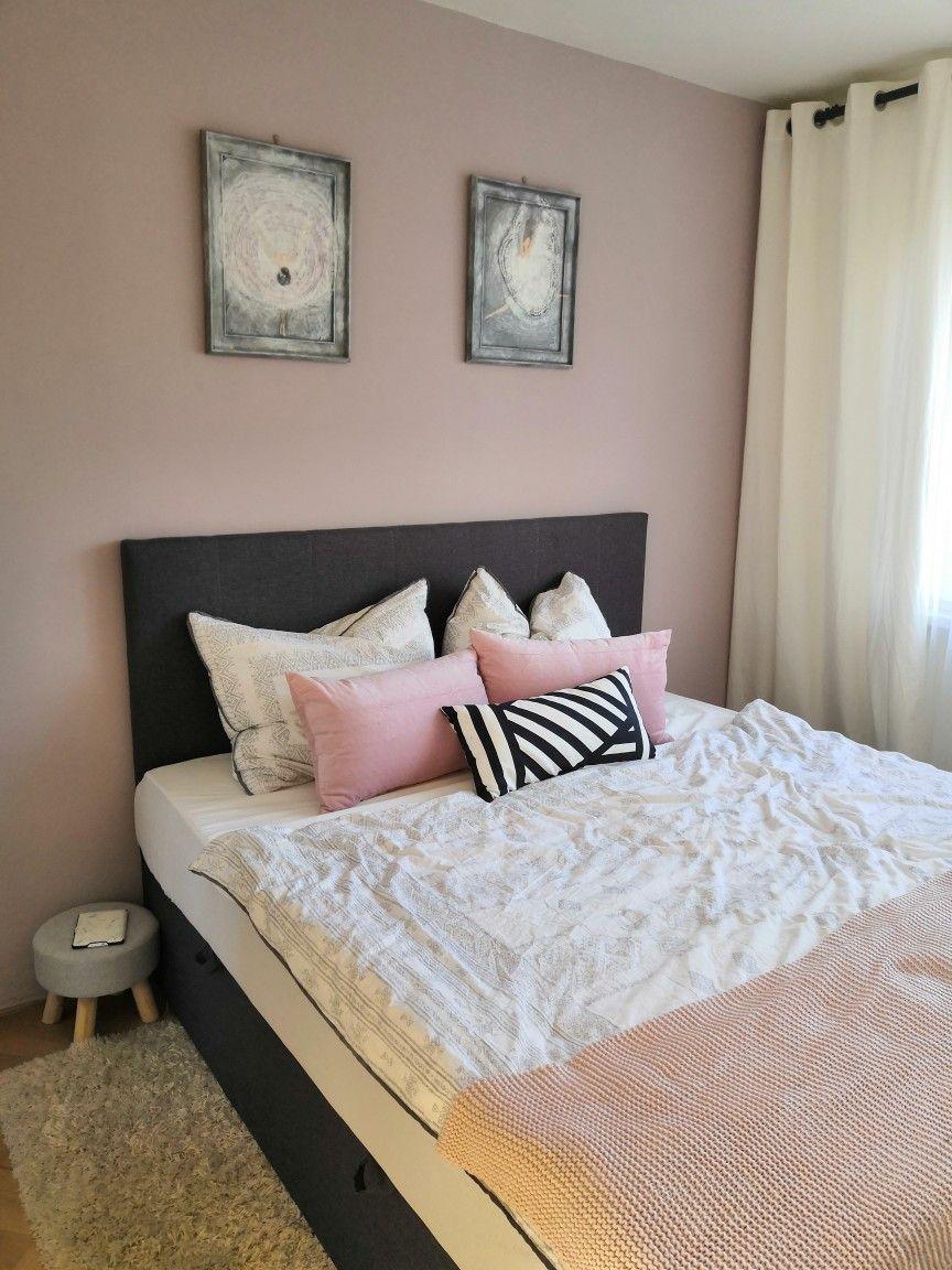Best Dusty Rose And Grey Bedroom Rose Bedroom Bedroom Home 400 x 300