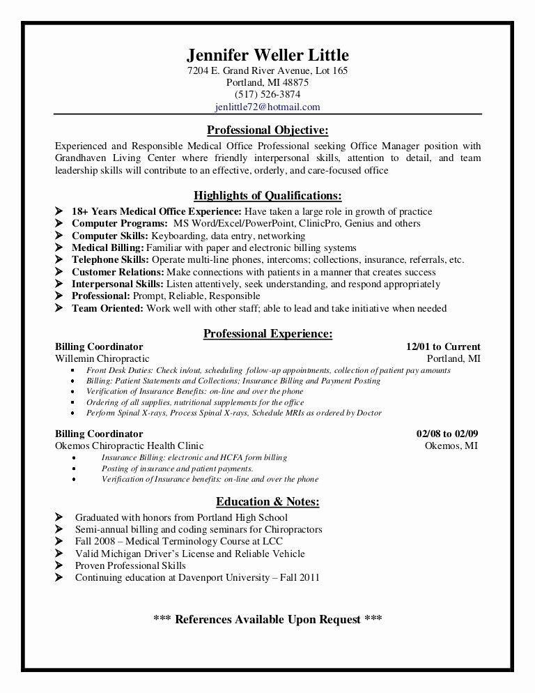 75 Best Of Image Of Resume Examples For Less Experience Medical Coder Resume Medical Assistant Resume Resume Examples