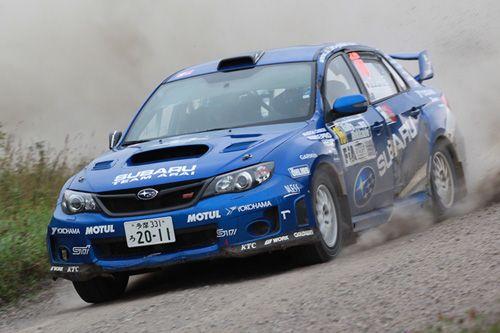 Subaru Impreza Fia Asia Pacific Rally Championship Toshihiro Arai And Dale Moscatt