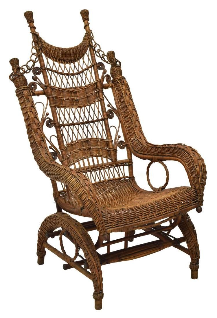 chair wicker conversation product depot set festival rocking piece