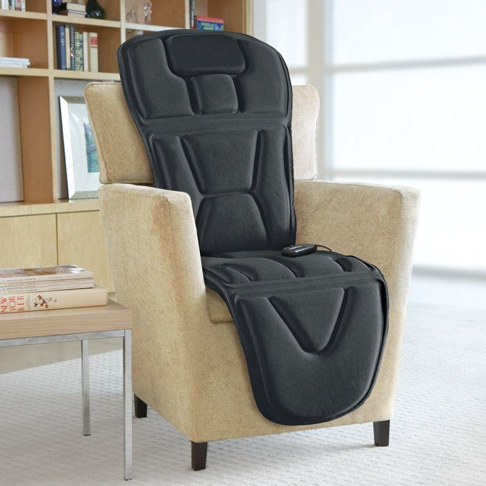 Turn Any Lounge Chair Into A Full Body Massage Chair For The