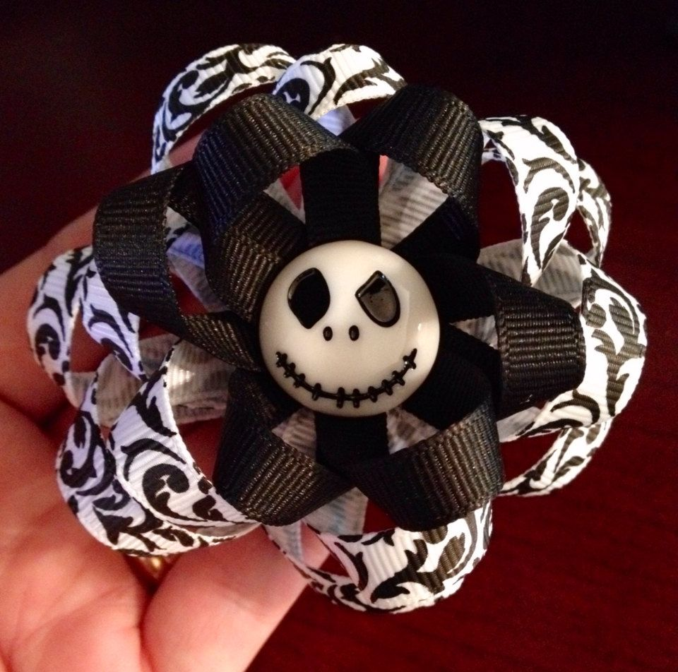 Nightmare Before Christmas Jack Skellington Ribbon by PriaMia ...