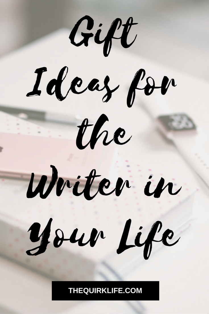 Have you started Christmas shopping yet? Don't forget these fun, cheap items for someone who loves to write!