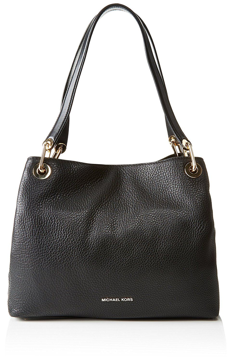 a34fde3c118126 Michael Michael Kors Raven Large Leather Shoulder Tote >>> Don't get left  behind, see this great product : Michael kors Handbags