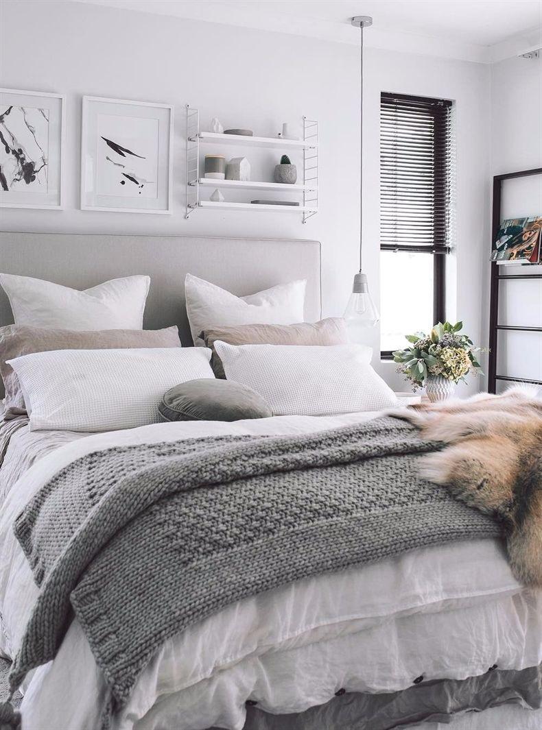 all neutral shades: bedroom design #BedroomDesign ... on Neutral Minimalist Bedroom Ideas  id=78296
