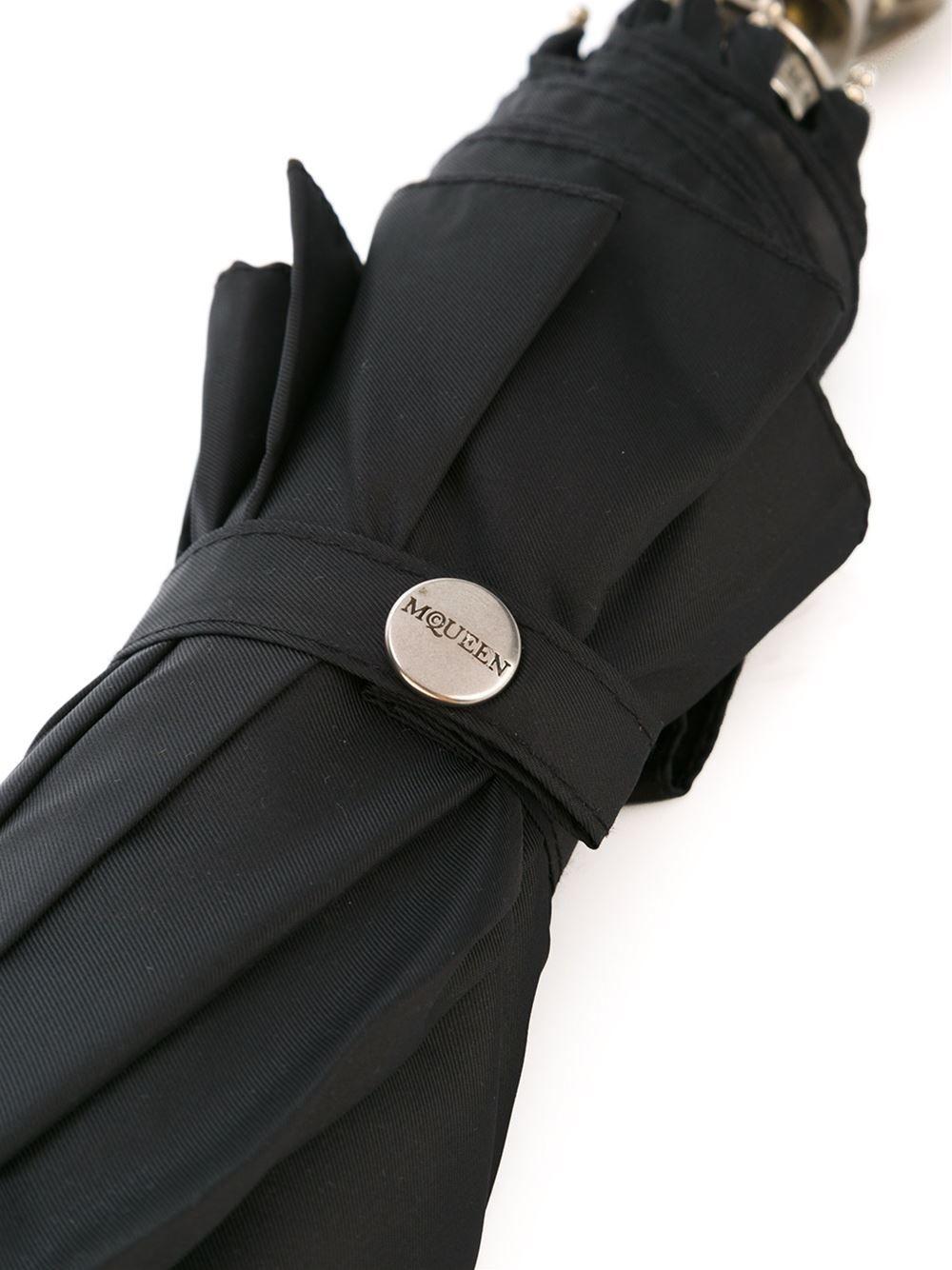 Alexander McQueen 스컬 핸들 우산
