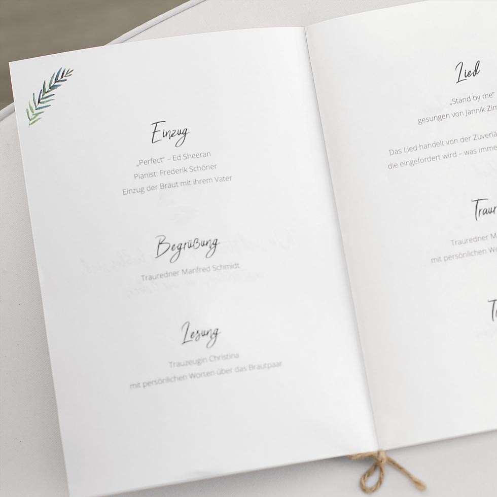 Kirchenheft Hochzeit Vorlage So Erstellt 14 4