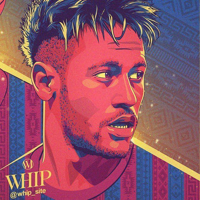 Neymar Jr Psg And Brazil Neymarjr Illustration By