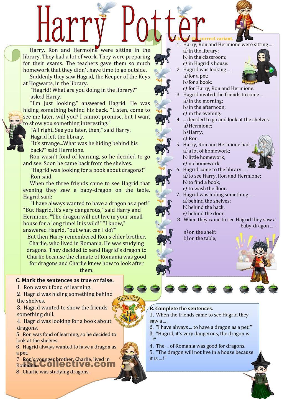 Hagrid D Secret English Reading
