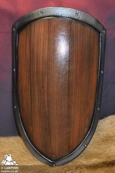 Rfb Small Kite Shield Wood Effect Larp Inn Larp Shields Dd In