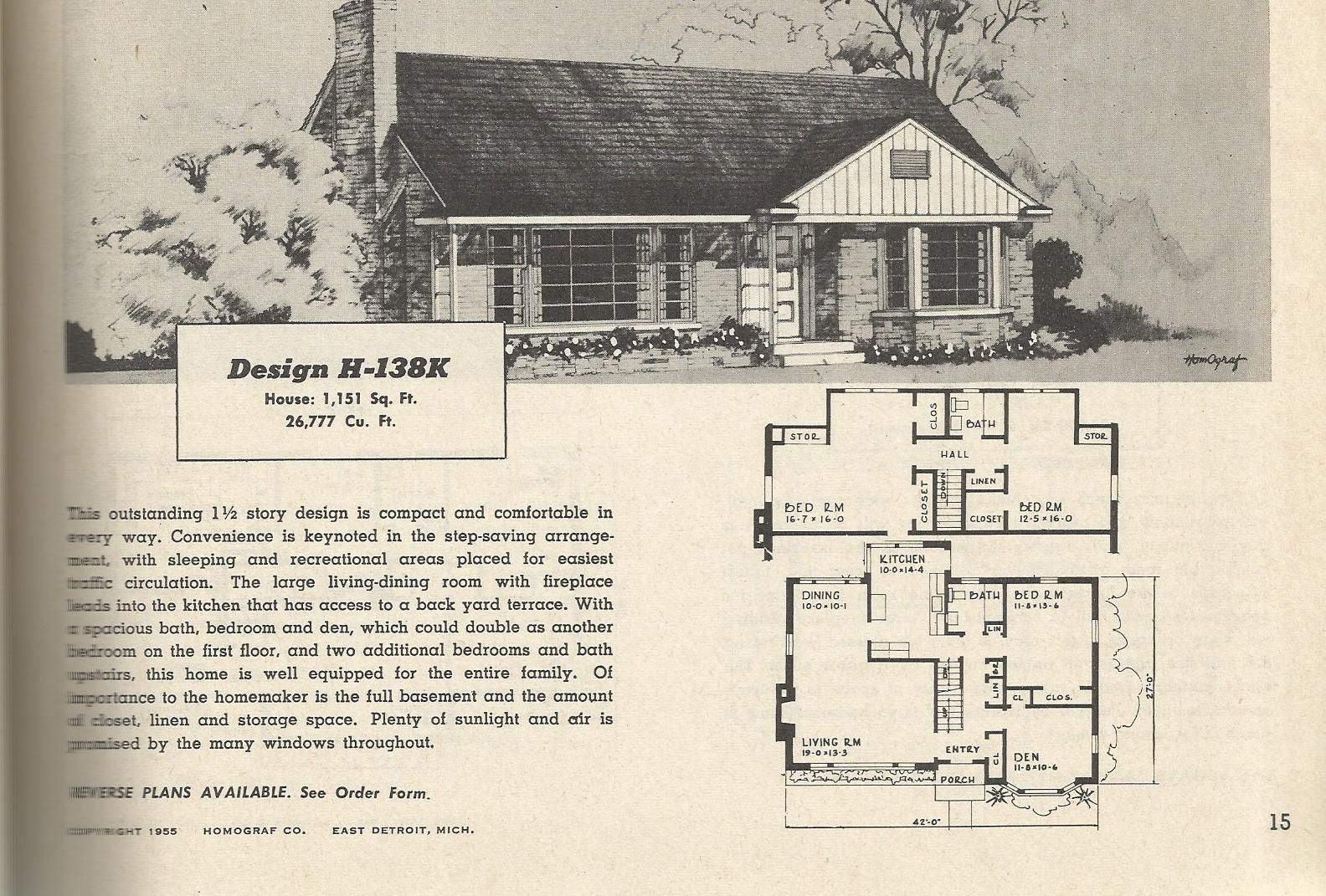Visit The Post For More Vintage House Plans Vintage House House Plans
