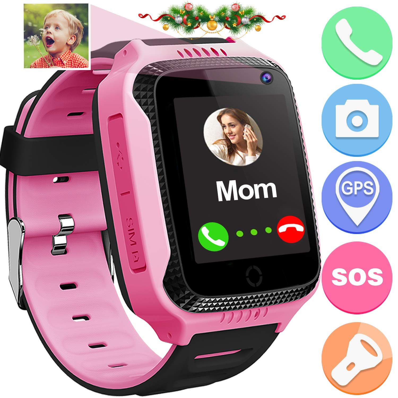 Kids Smart Watch Phone for Kids Girls Boys GPS Tracker