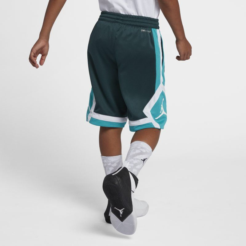 d8dd9aab78b89d Jordan Rise Diamond Older Kids (Boys ) Shorts - Green Boy Shorts