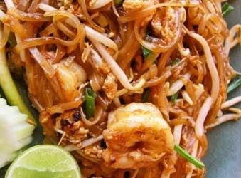 This pad thai recipe looks good but i would use tofu instead of thai ingreients needed to make easy thai recipes on the food channel of allaboutyou forumfinder Images