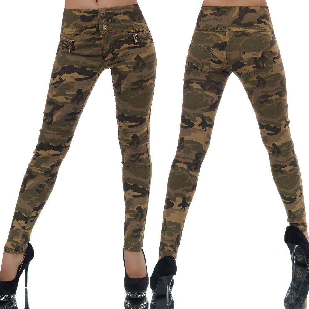 0002d1a8d Terepmintás magas derekú nadrág | Női divat | Nadrág, Divat és Női divat