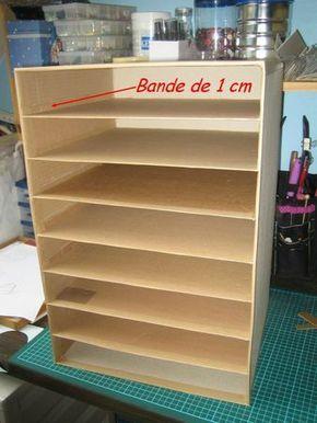 tuto rangement tampons feuilles scrap diy boxes baskets pinterest tampon scrap et. Black Bedroom Furniture Sets. Home Design Ideas
