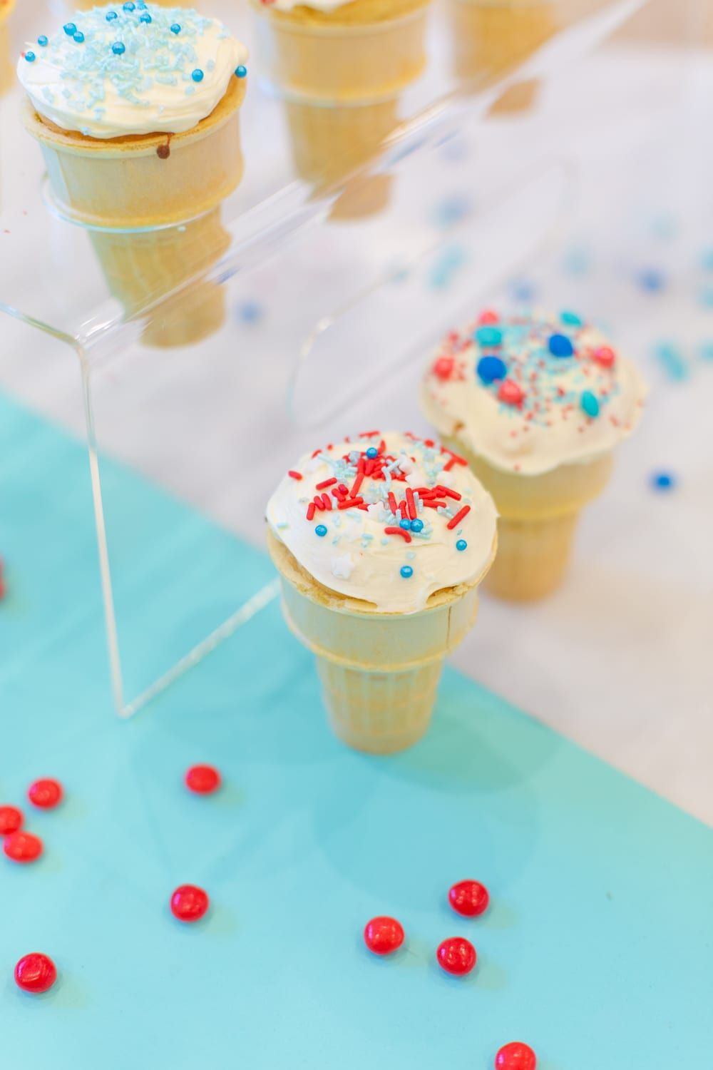 How to make ice cream cone cupcakes dessert for dinner