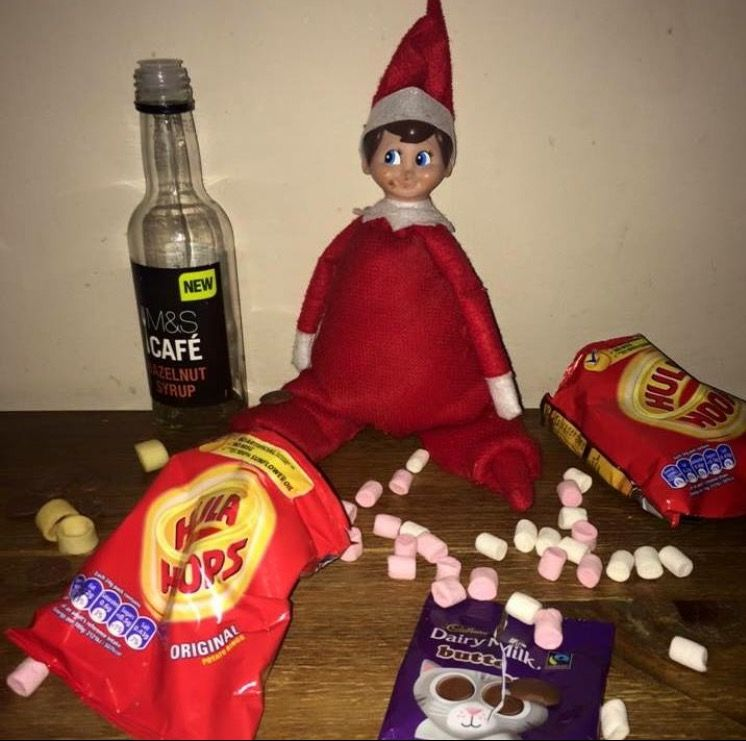Pin On Our Funny Elf On Shelf