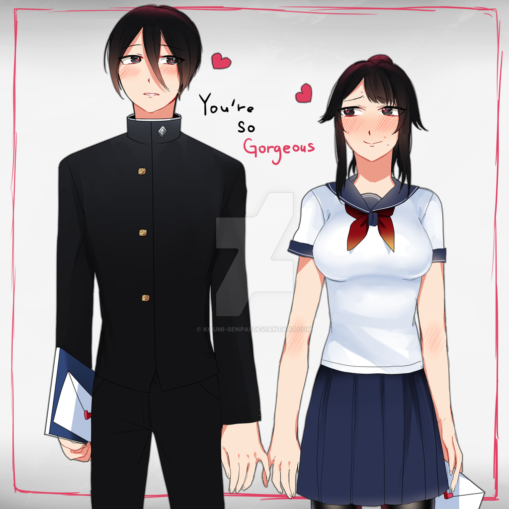 yandere simulator genka x fem reader lemon - Google Search