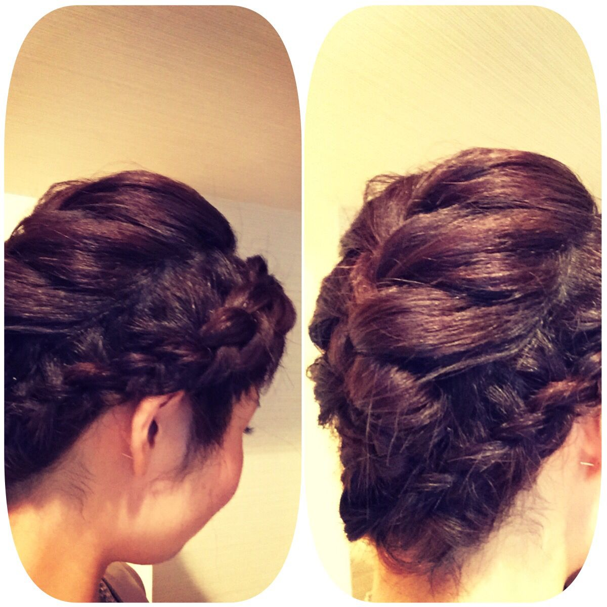 Hair style for a party! Looks like Frozen.