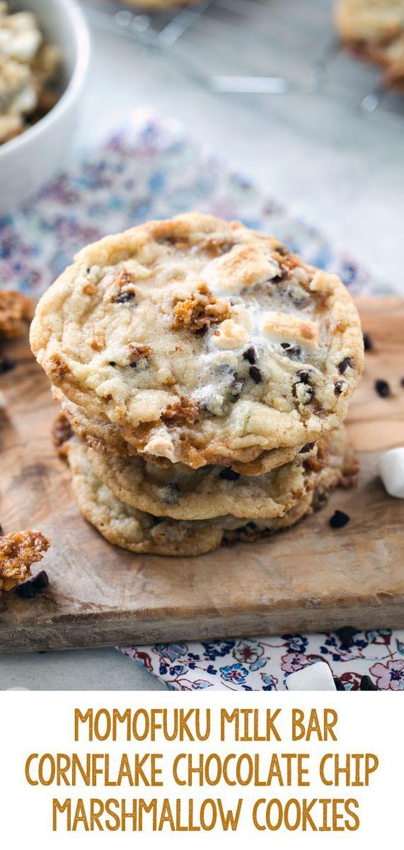 Momofuku Milk Bar Cornflake Chip Marshmallow Cookies