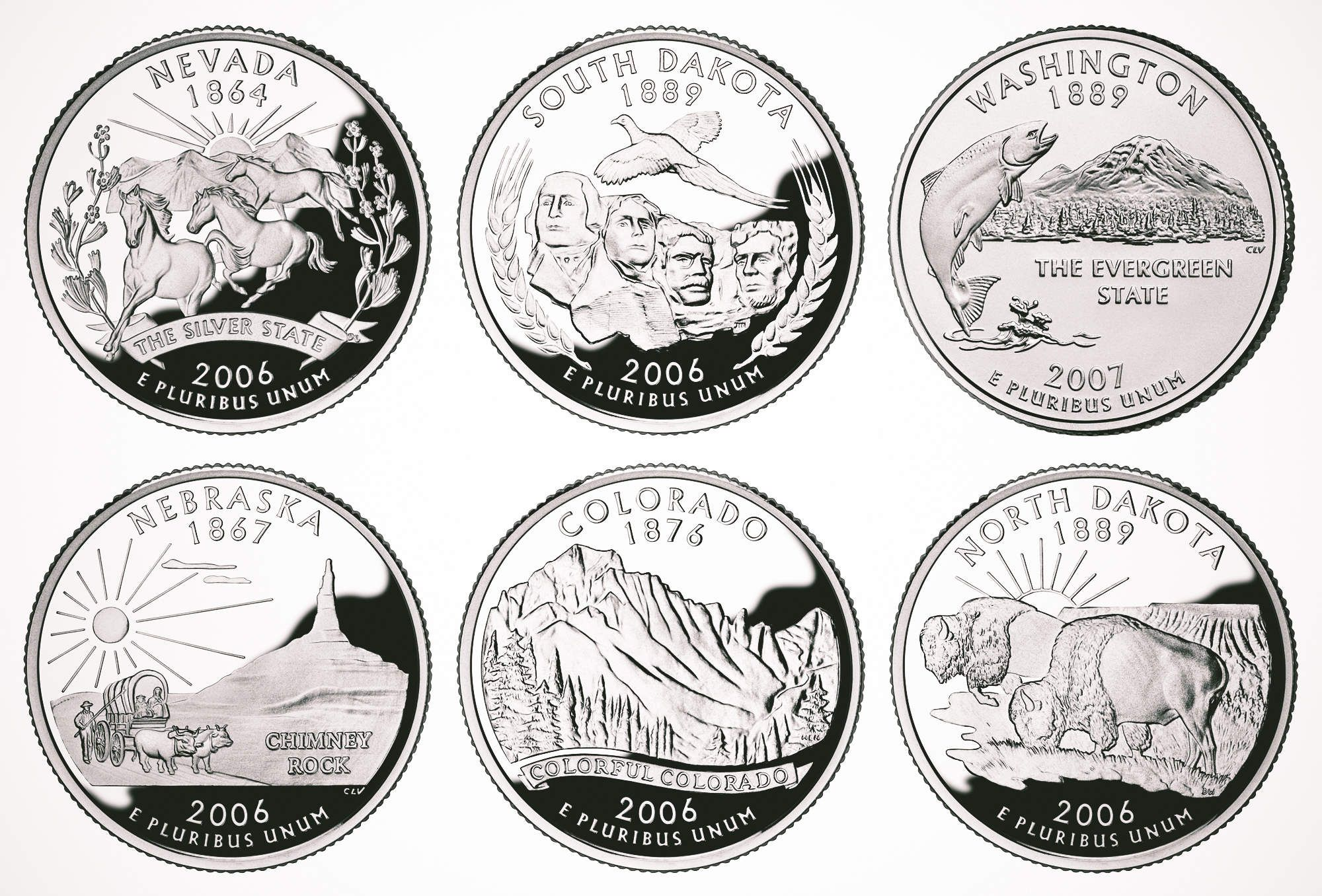 All 50 Us State Quarters Ranked In
