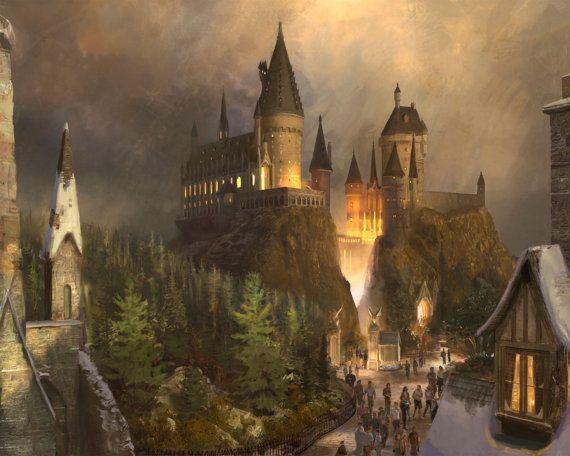 3D Window Hogwarts Harry Potter Wall Decal by WindowGallery2016